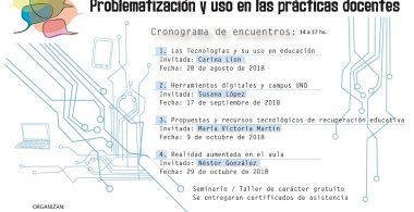 Conversatorio sobre Educación y Tecnologías. Problematización y uso en las prácticas docentes