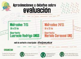 Aproximaciones y debates sobre  Evaluación. Primera Edición