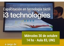 Taller de Tecnología Tactil
